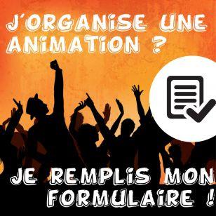 Une animation, un formulaire !