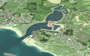 Projet de port de plaisance