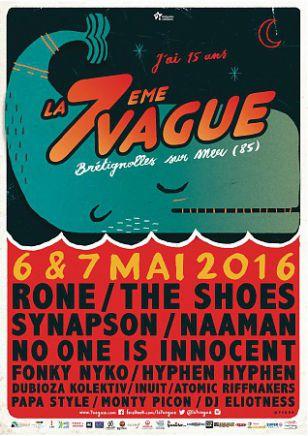 Festival de la 7e Vague - Parc des Morinières