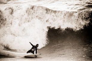 Le surf à Brétignolles-sur-Mer