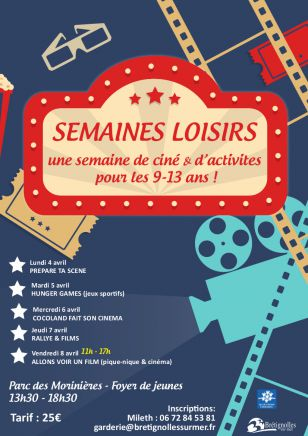 Semaines Loisirs - Cinéma & activités