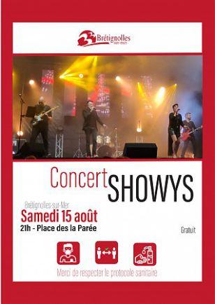 Concert : Showys