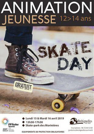 Atelier 12-14 ans : Skate Day