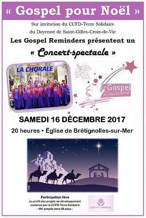 Concert - Gospel pour Noël