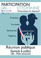 Réunion publique : participation citoyenne