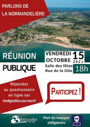 Parlons de la Normandelière : réunion publique