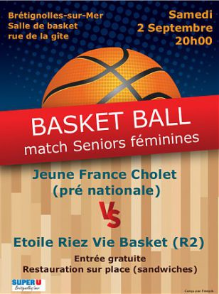 Basket - Match Séniors Féminines