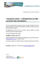 CP Semaines loisirs 2014 Toussaint
